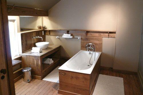Salle De Bain Blanc Gris Bois: Une douche à l&#;italienne Galerie ...