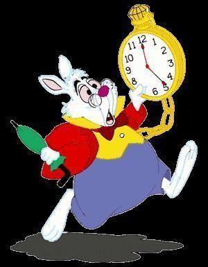 Alice au pays des merveilles - Alice au pays des merveilles lapin en retard ...