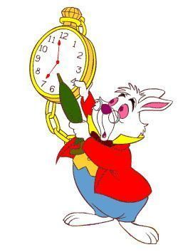 Alice au pays des merveilles page 7 - Montre lapin alice au pays des merveilles ...