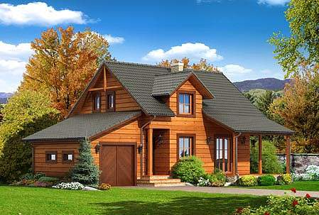 maisons en bois pas cher affordable prix duune maison bois moderne avec deux chambres with. Black Bedroom Furniture Sets. Home Design Ideas