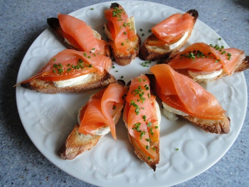Hors d 39 oeuvres for Entree originale hiver